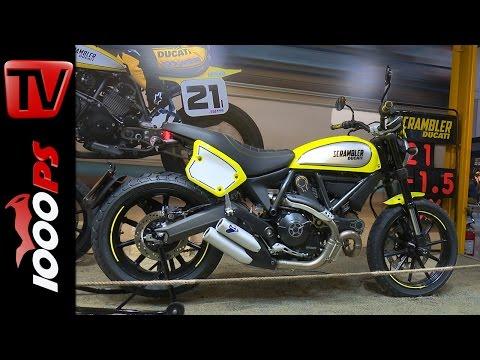 Ducati Scrambler Flat Track Pro 2016 | Details, Design