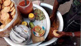Bengali road side street food Dhaka