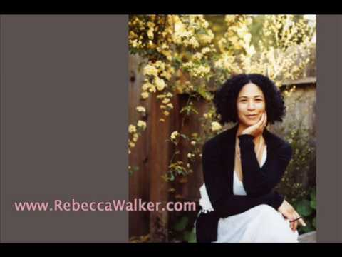 Rebecca Walker  What Makes A Man part 1 of 8