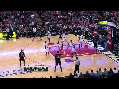 New York Knicks vs Chicago Bulls | March 28, 2015 | NBA 2014-15 Season