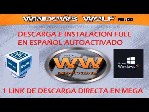 Descargar E Instalar Windows XP Wolf 2015 [MEGA]