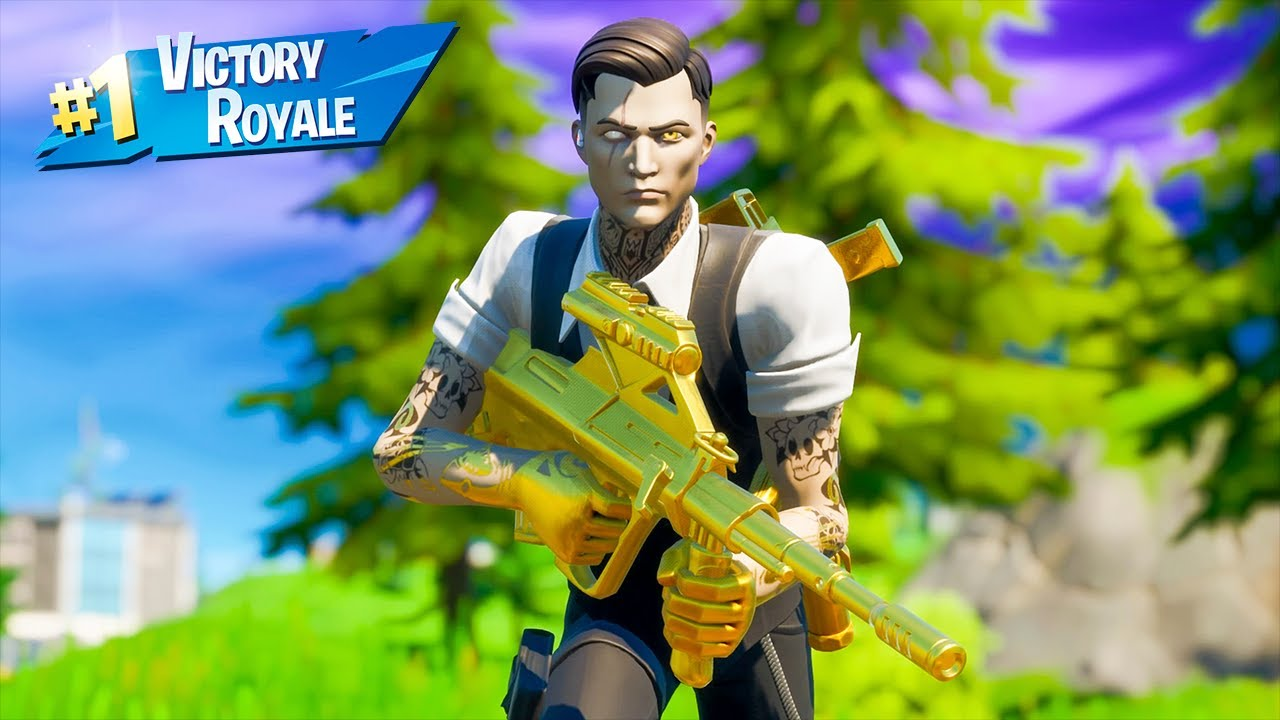 Tier 100 Midas Skin Solo Win Full Gameplay Fortnite Chapter 2 Season 2 No Commentary Ps4 Console Youtube