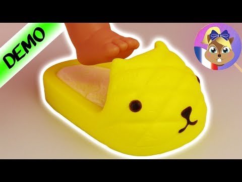 Chaussure Anti-stress Chat Ananas | Peut-on Les Mettre? SQUISHY SLOW RISING
