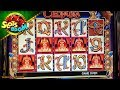 Cleopatra LIVE BONUSES !!! 5 Scatters !!! IGT♠ Video Slot in San Manuel Casino