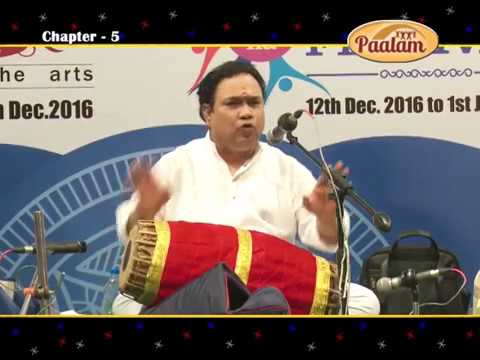 Lecture Demonstration on Mridangam by Thiruvarur Vaidhyanathan