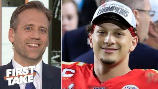 Max Kellerman reacts to Patrick Mahomes' Super Bowl LIV win | First Take