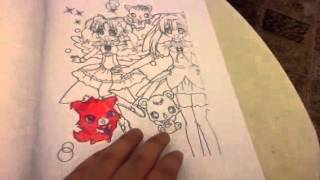 Jewelpet tinkle coloring manga