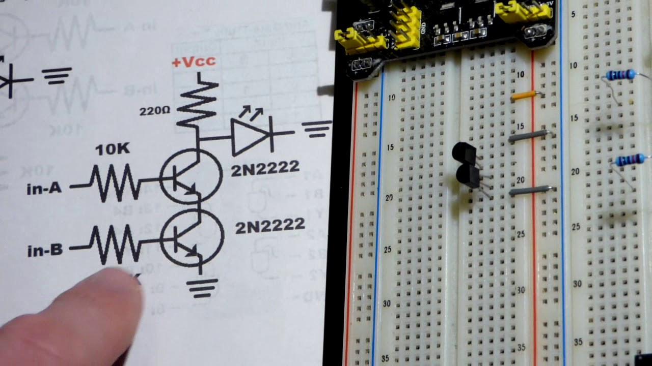 Input Transistor And Gate