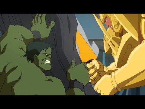 Download Planet Hulk: Hulk vs the Red King (final battle)