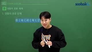 [중등인강/중1 과학] 생물의 분류 단계 - 수박씨닷컴 곽신선생님