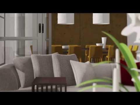 CONCRETE HOUSE INTERIOR CGI