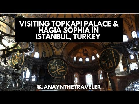 Visiting Topkapi Palace & Hagia Sophia in Istanbul, Turkey 🇹🇷 (Seeing the Ottoman Sultans' Harem)