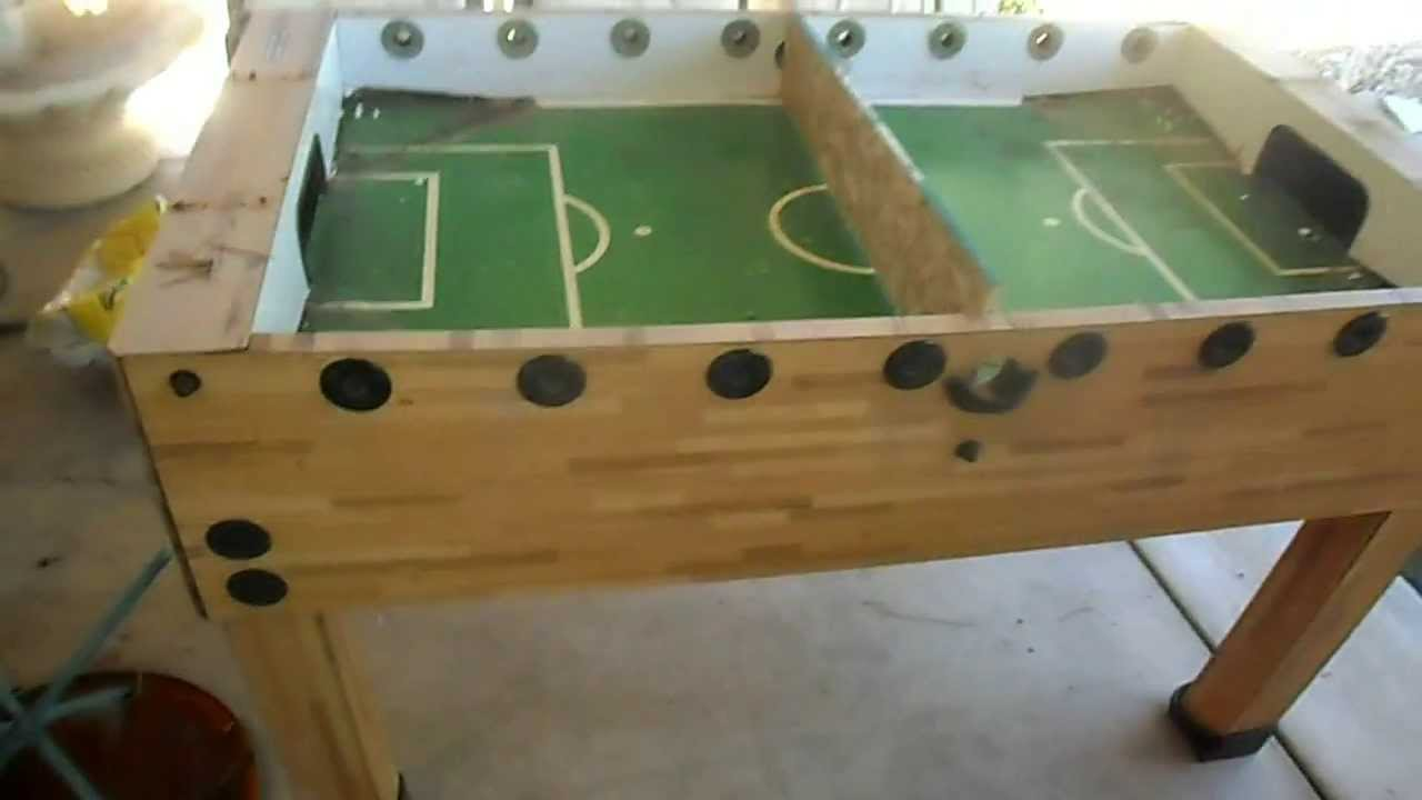 Raised Bed Made Out Of A Foosball Table Youtube