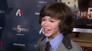 The 5th Wave Fan Screening Interview - Zackary Arthur