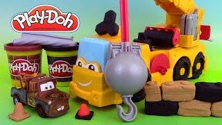 Pâte à modeler Super Camion Grue Electronique ♥ Play Doh Buster the Power Crane