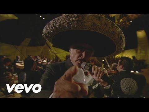 Vicente Fernández - Me Voy a Quitar de en Medio (En Vivo)