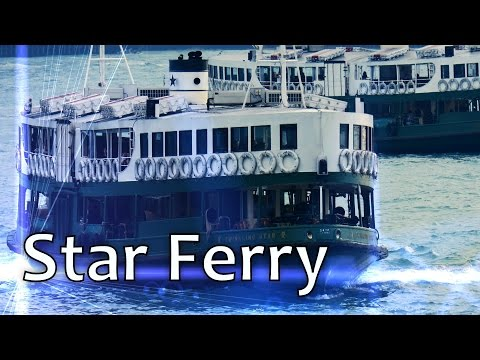 Star Ferry 天星小輪 / From Tsim Sha Tsui to Central / Hong Kong HD