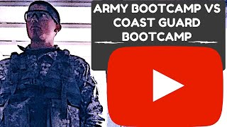 ARMY BOOTCAMP VS COAST GUARD BOOTCAMP VLOG 004