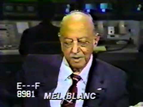 Rare Interview of Mel Blanc on CNN