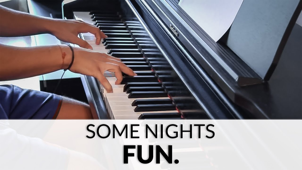 fun-some-nights-piano-cover-francesco-parrino