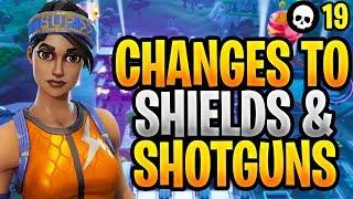 Interesting New Changes To Shields & Shotguns In Fortnite! (Fortnite NEW Update 9.21)
