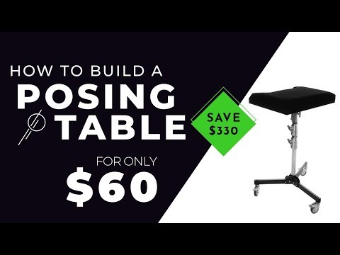 Creating A Photography POSING TABLE For Under 60 BUCKS!!
