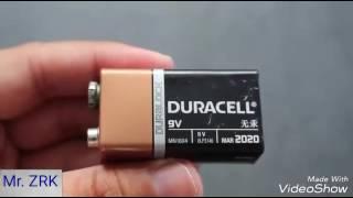 Comment faire une voiture avec une batterie 9V