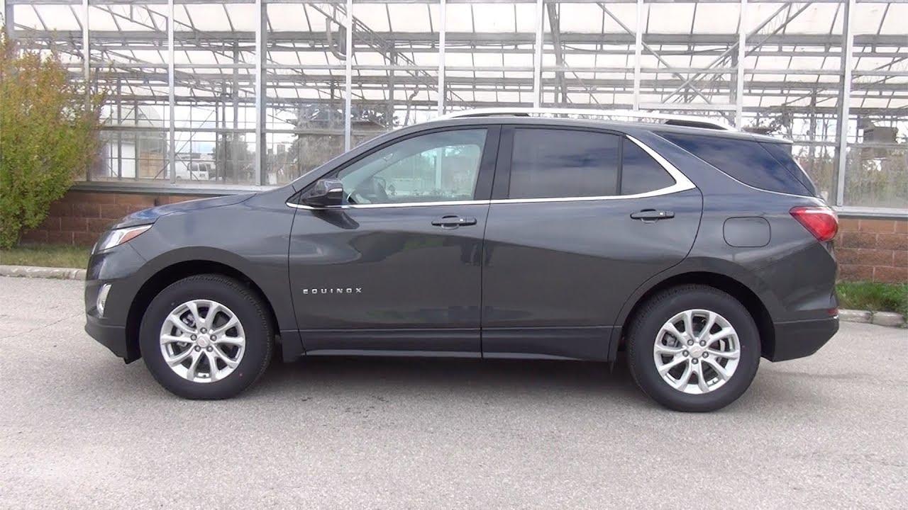 2018 Chevrolet Equinox LT - NIGHTFALL GREY - YouTube