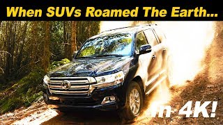 2018 Toyota Land Cruiser Review and Comparison