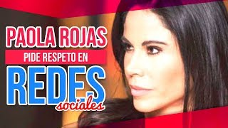 Paola Rojas lanza comunicado de prensa pidiendo respeto | Sale el Sol