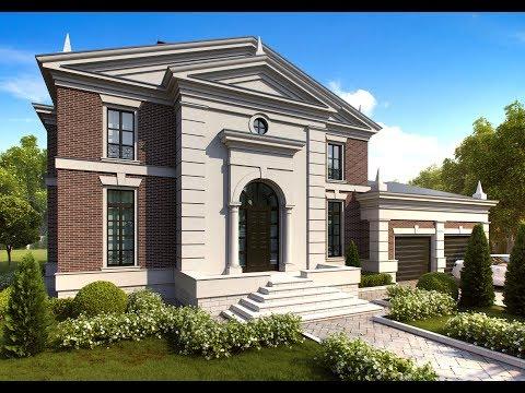 Архитектурный проект английского дома