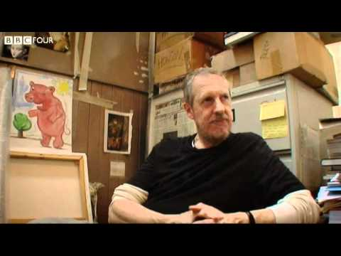 Artist destroys his own painting - The Madness of Peter Howson - BBC Four