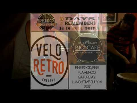 Retro Rendezvous 2017 - Bici Cafe Flamenco Lunch