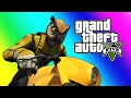 GTA 5 Online Funny Moments - Owl and Raccoon House Tour! (Funny Glitches)