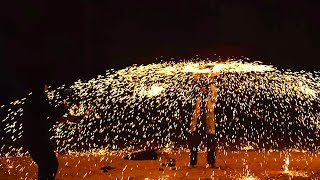 Spinning a Million Sparks  - The Slow Mo Guys 4K
