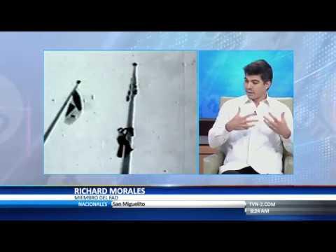 Richard Morales del FAD en TVN Panamá  8 1 2018