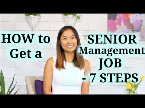 Executive Job Search - 7 Steps to Land a Senior Management Job - YouTube
