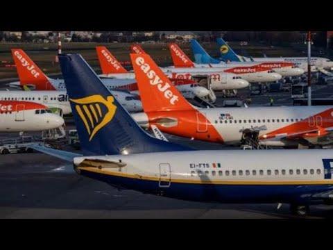 Coronavirus: Ryanair annule jusqu'à 25% de ses vols italiens