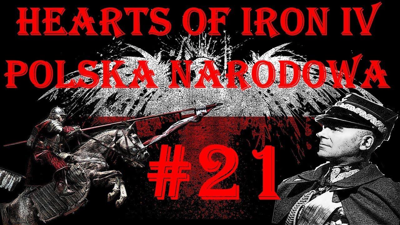 HEARTS OF IRON IV | POLSKA NARODOWA #21 POLSKA AŻ PO URAL?!