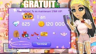 COMMENT Être VIP 1 AN STAR GRATUIT ! Tuto ♥ (nouvelle méthode 2019)