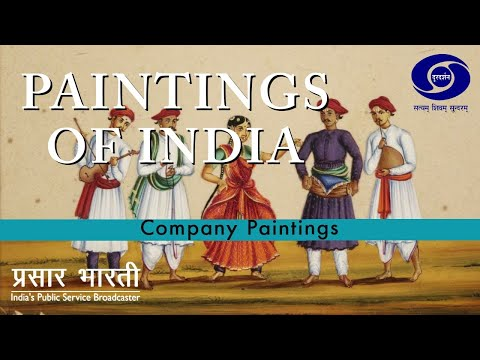 The Paintings of India - Company Paintings
