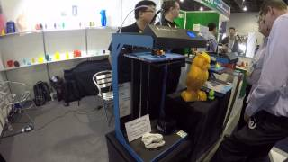 ideaprinter f100l 3d printer ces 2015 fff fdm