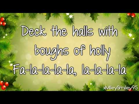 How To Rock Cast ft. Cymphonique Miller - Deck The Halls (with lyrics)
