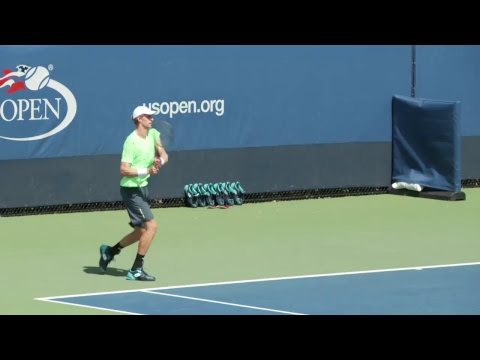 LIVE US Open Tennis 2017: Kevin Anderson Practice