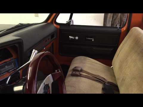 C10 New Dash Pad And Door Panels