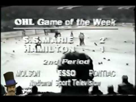 Sault St Marie Greyhounds vs Hamilton Steelhawks BENCHBRAWL