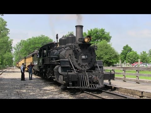 Riding the Huckleberry Railroad