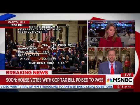 Katy Tur has tense exchange with Dave Brat over tax bill