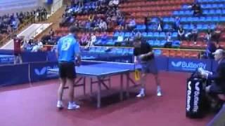 Чемпионат России 2011 по настольному теннису  Рубцов   Уточкин 1