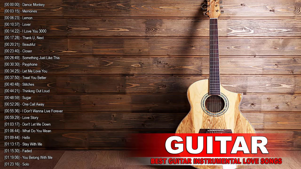 Top 40 Guitar Covers Of Popular Songs 2020 Best Instrumental Relax Music For Work Study Youtube